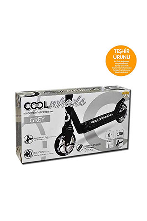 Furkan Toys Cool Wheels Scooter 8 Yaş Gri