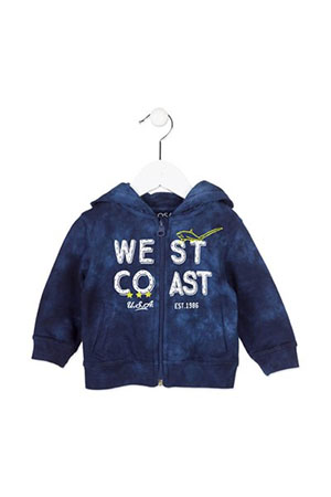 Losan Baby Sweatshirt Mavi West Coast