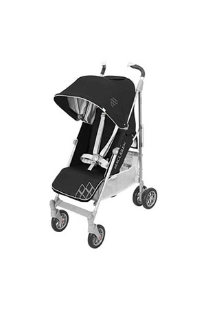 Maclaren Techno Xt Baston Puset Black Silver