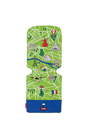 Maclaren Universal Bebek Arabası İç Ped Paris City Map