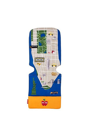 Maclaren Universal Bebek Arabası İç Ped New York City Map