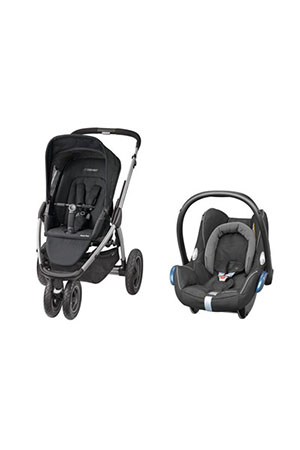 Maxi-Cosi Mura Plus 3 Travel Sistem Bebek Arabası / Black Raven