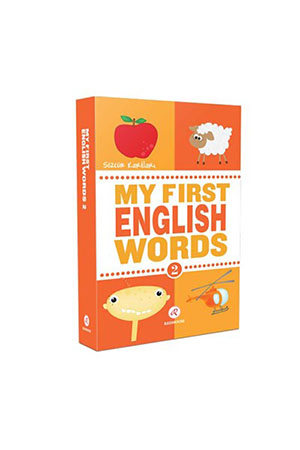 My First English Words 2-Sözcük Kartları