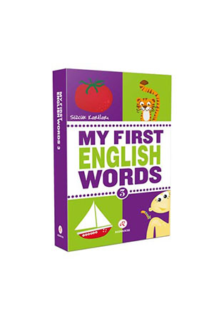 My First English Words 3-Sözcük Kartları