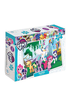 Ca Game My Little Pony Puzzle 100 Parça