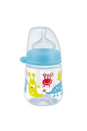 Nip Wide Neck Bottle 150 ml Anti-Kolik Erkek Biberon
