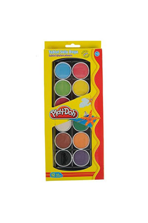 Play-Doh Tablet Sulu Boya 12 Renk