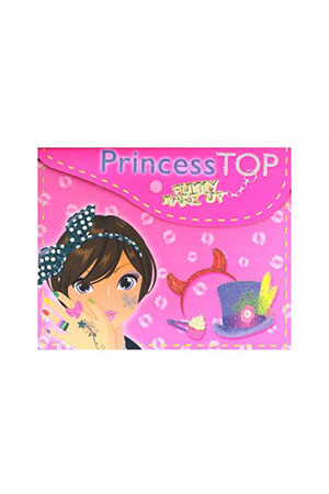 Princess Top Funny Make Up Pembe