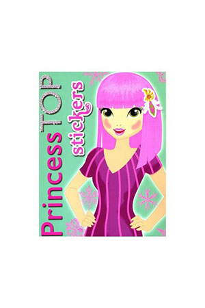Princess Top Stickers-Yeşil