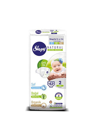 Sleepy Natural Jumbo Mini 42li 2 Numara 3-6 Kg