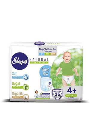 Sleepy Natural Maxi Plus 26 lı 4+ Numara 9-16 Kg