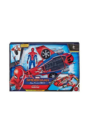 Spiderman : Far From Home Spiderjet ve Spiderman Figürü