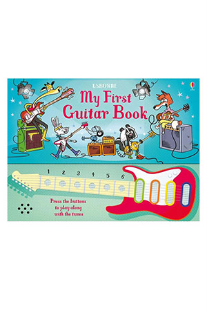 The Usborn My First Guitar Book Beyaz