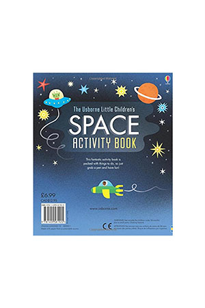 The Usborne - Little Childrens Space Activity