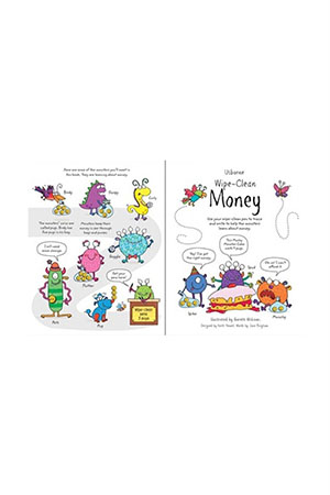 The Usborne - Wipe Clean Money