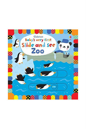 The Usborne BVF Slide and See Zoo