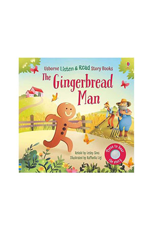 USB - The Gingerbread Man Listen & Read Story Book