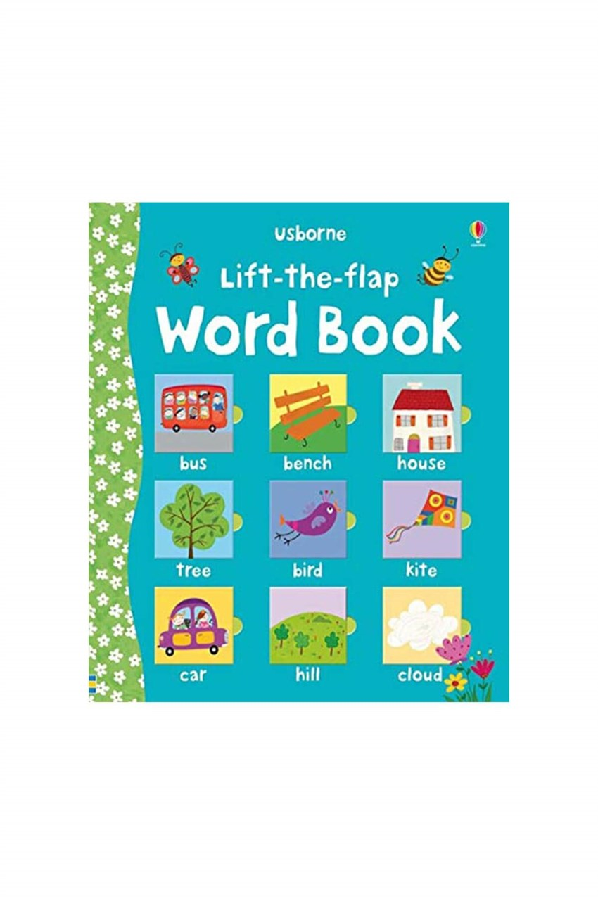 The Usborne  Lift The Flap Word Book