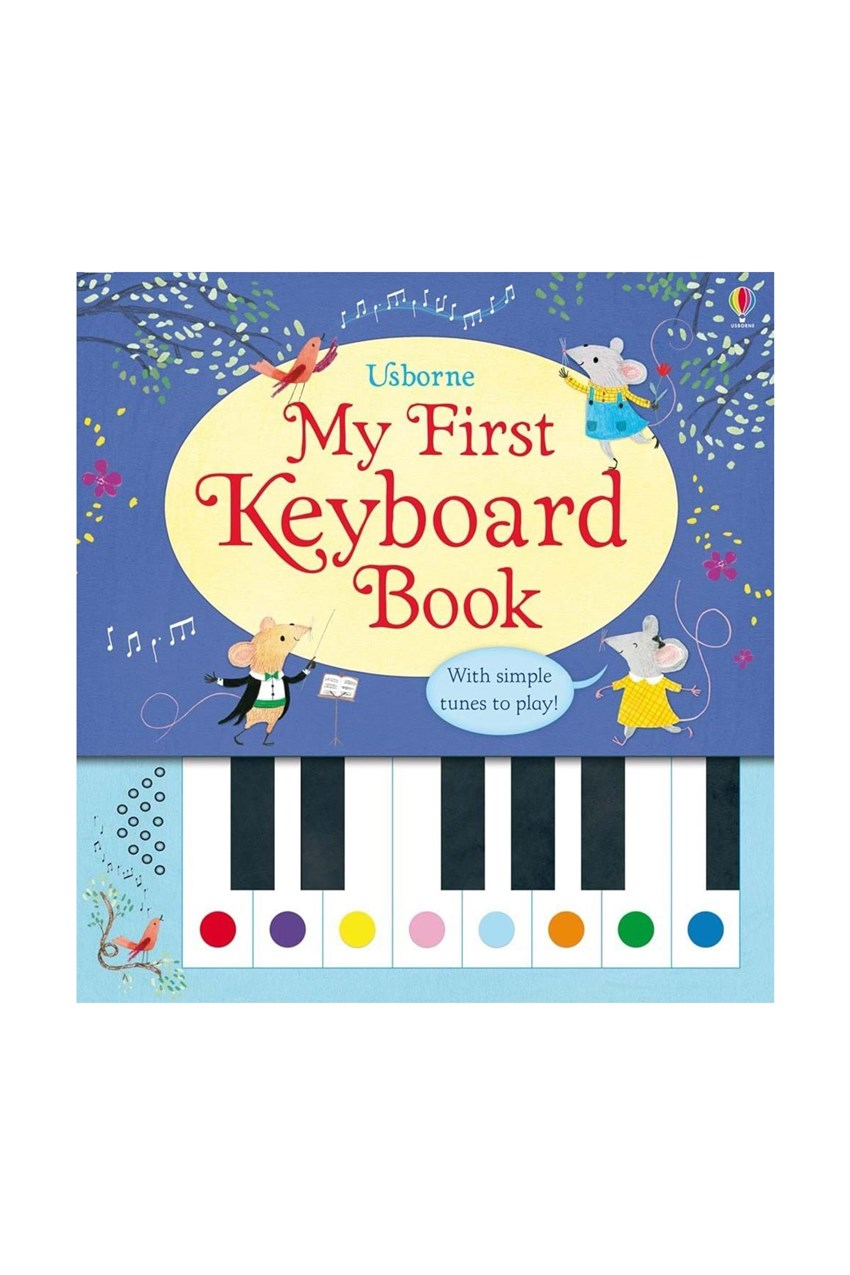 USB - My First Keyboard Book Beyaz