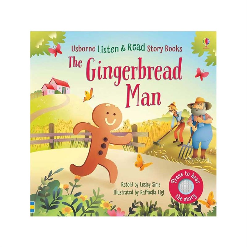 The Usborne The Gingerbread Man Listen & Read Story Book